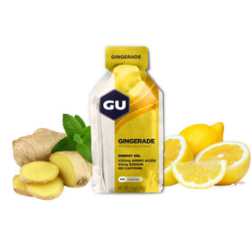 GU Energy Energy Gel Box Gingerade 24x 32g